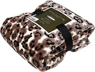 Qbedding Inc. Luxury Collection Ultra Soft Plush Fleece Lightweight All-Season Throw/Bed Blanket (Twin, Legend Leopard)
