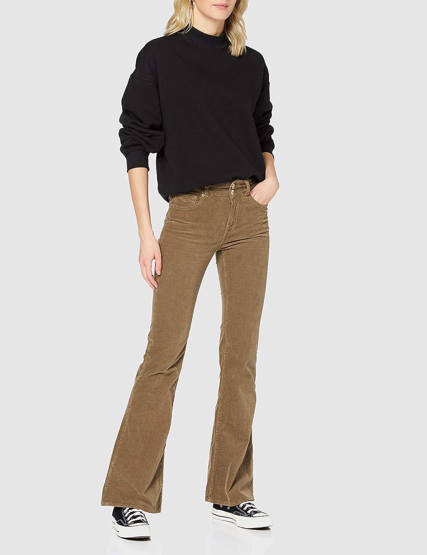 Replay Newluz Flare Jeans Femme 121 Beige