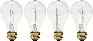 GE Lighting Crystal Clear 72-Watt, (100-watt replacement) 1490-Lumen A19 Light Bulb with Medium Base, (72W, 1490-Lumen)