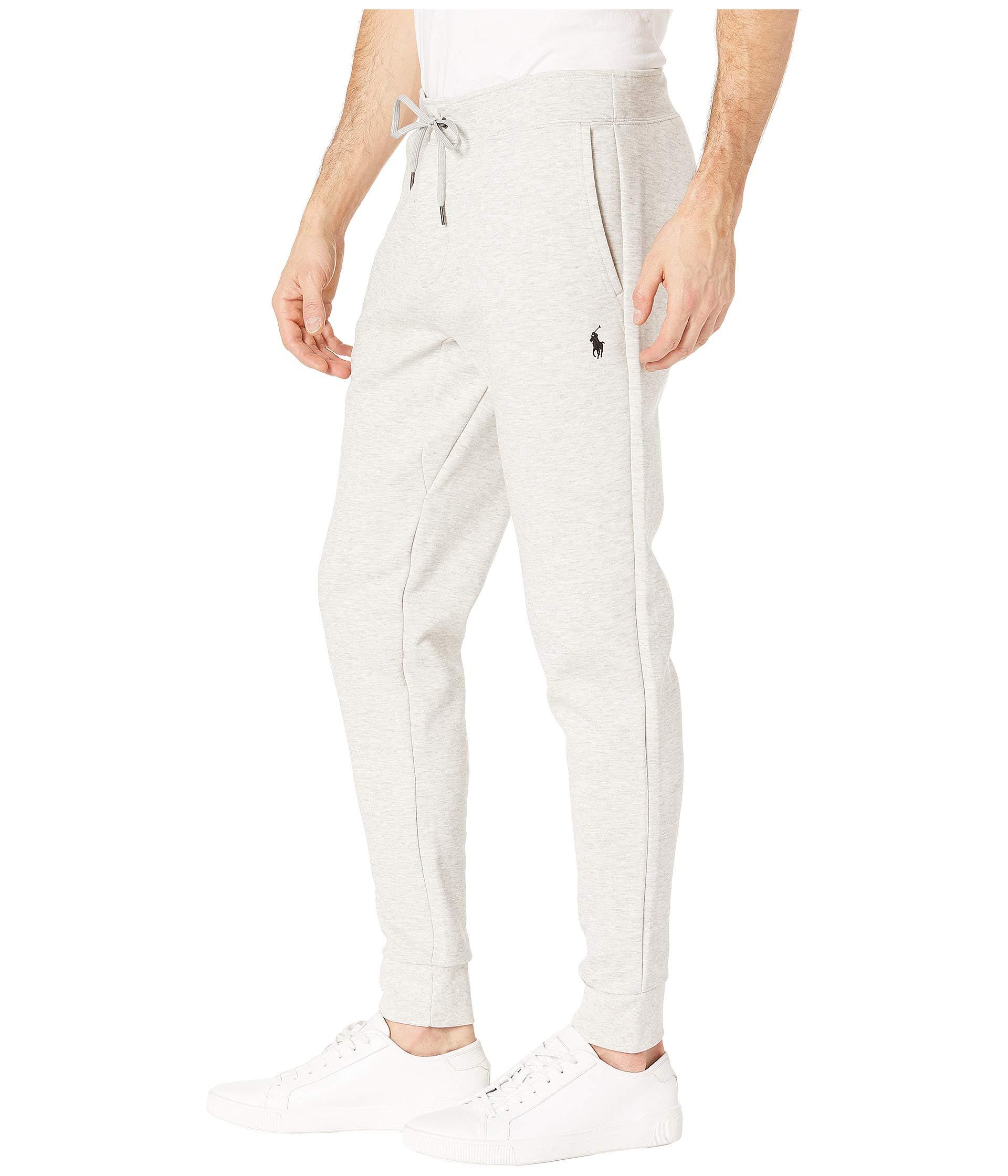 Polo Tech Fleece Light Sport Double Lauren Knit Pants Heather Ralph gwHPqrg