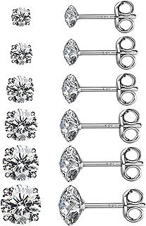 Best stud earrings 6 pairs Reviews