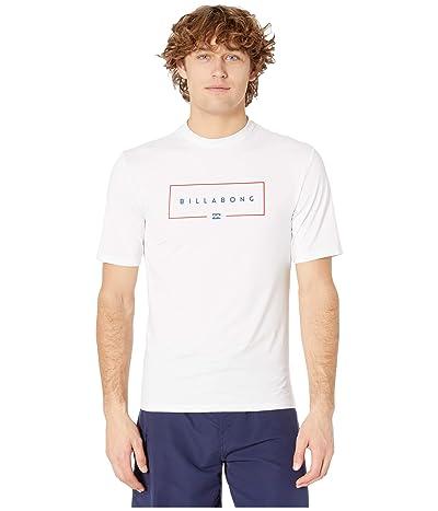 Billabong Union Loose Fit Short Sleeve (White) Men
