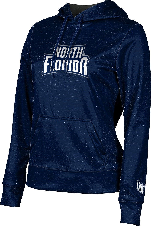 University of North Florida Girls' Pullover Hoodie, School Spirit Sweatshirt (Heathered)