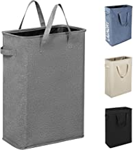 Chrislley 45L Slim Laundry Hamper Hampers for Laundry Collapsible Laundry Baskets Clothes Hampers for Laundry Small Laundr...