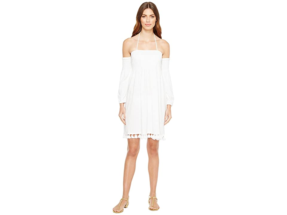 Lilly Pulitzer Trina Beach Dress (Resort White) Women