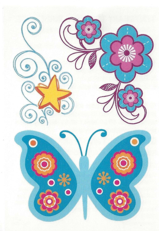 BUTTERFLY STAR FLOWERS 3
