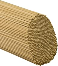 Dowel Rods Wood Sticks 3/16 Inch X 12 Inches 50 Pieces Woodpeckers Wooden Dowel Rods