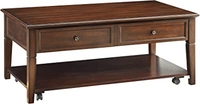 Amazon Com Acme Malachi Coffee Table With Lift Top Walnut Furniture Decor