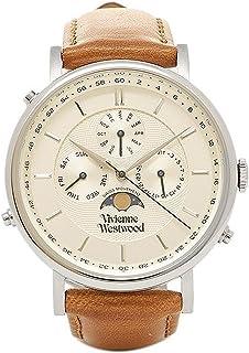 [ヴィヴィアンウエストウッド] メンズ腕時計 Vivienne Westwood VV164SLTN ホワイト ゴールド ブラウン [並行輸入品]