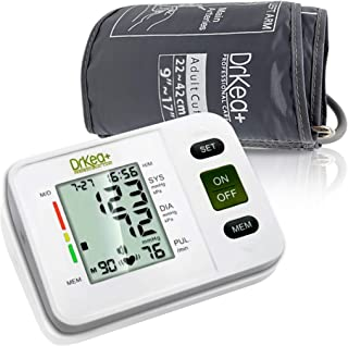 Blood Pressure Monitor Upper Arm - Fully Automatic Blood Pressure Machine Large Cuff Kit - Digital