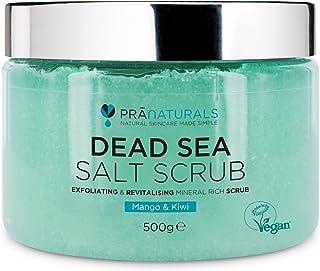 PraNaturals Exfoliante Corporal de Sal del Mar Muerto