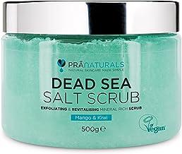 PraNaturals Revitalising Dead Sea Body Scrub 500g, 100%
