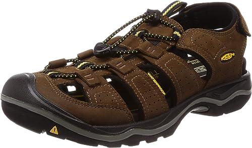 Keen - Men& 39;s Rialto II Outdoor Sandals, Bison negro, 7 M US