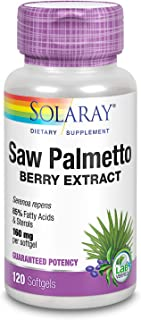 Solaray - Saw Palmetto Berry Extract 160 Mg. 120 Softgels 144401