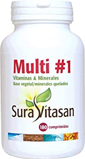 MULTIVITAMINS & MINERALS 180CO