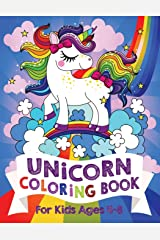 Unicorn Coloring Book: For Kids Ages 4-8 (US Edition) Paperback