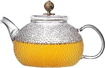Kubek młotek odporny na ciepło szkło filtr zagęszczający Pu'er Home Kung Fu herbata serwis dom 750 ml odporny na ciepło (r...