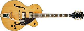 GRETSCH エレキギター G2410TG Streamliner™ Hollow Body Single-Cut with Bigsby® and Gold Hardware, Laurel Fingerboard, Village Amber