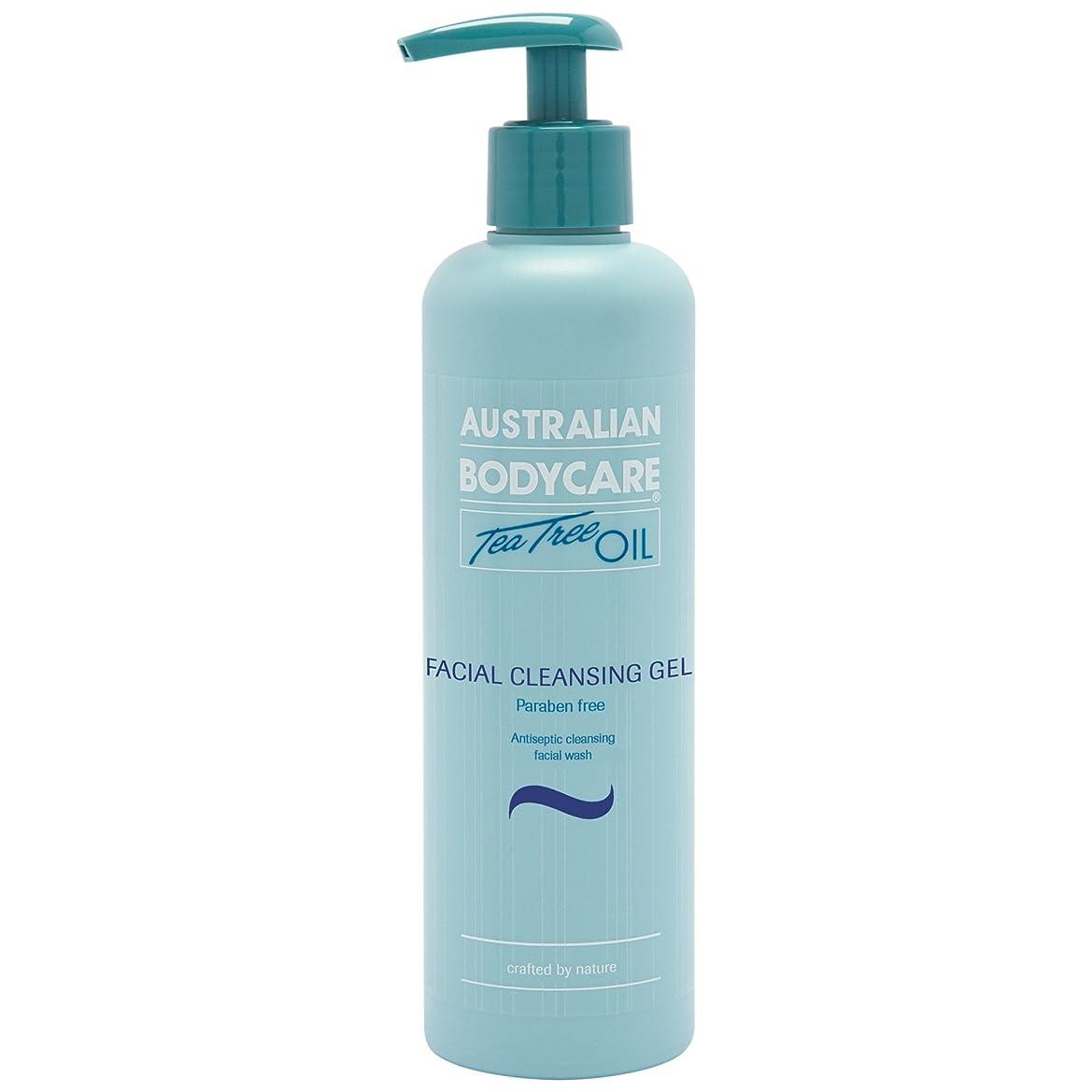 降雨まばたき深さオーストラリアのボディーケアティーツリーオイル洗顔ゲル250ミリリットル (Australian Bodycare) (x6) - Australian Bodycare Tea Tree Oil Facial Cleansing Gel 250ml (Pack of 6) [並行輸入品]