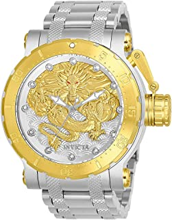 Invicta Men's Coalition Forces Automatic-self-Wind Watch with Stainless Steel Strap, Silver, 26.3 (Model: 26508)