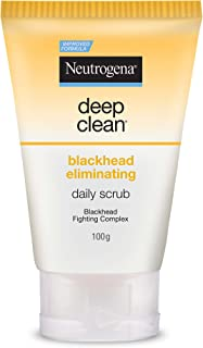 Neutrogena Deep Clean Blackhead Eliminating Daily Scrub, 100g