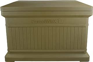 RTS Companies Inc. 550200501A5481 Parcelwirx Standard Horizontal Delivery Drop Box w/Lift Off Lid, Oak