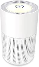 WSTA Air Purifier for Home Allergies and Pets,True HEPA Filter,Sleep Mode,Night Light,Super Quiet Air Cleaner Purifiers for Bedroom,Office,Smokers,Smoke Dust