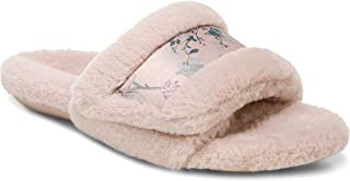 Vionic Women's Charkra Erma Slide Slipper - Comfortable Open Toe Spa House Slippers That Include Three-Zone Comfort with O...