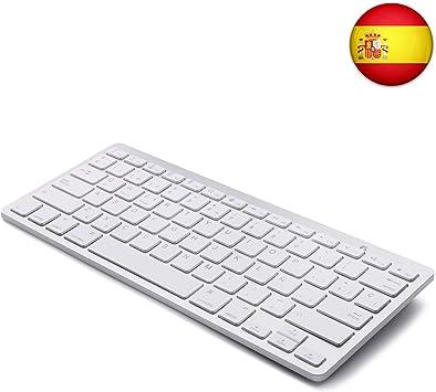 Tableta Teclado Bluetooth, Boriyuan Teclado inalámbrico en ...