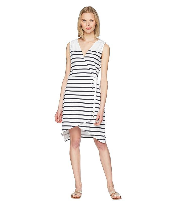 Heidi Klein Core Wrap Dress (Stripe) Women