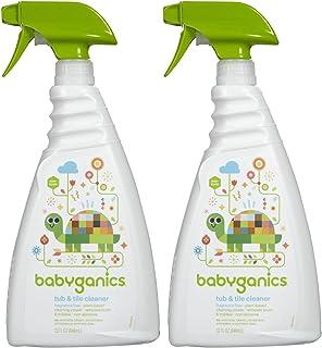 Babyganics Tub & Tile Cleaner - Fragrance Free - 32 oz - 2 pk