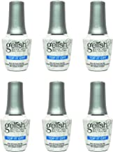 Gelish Harmony 0.5 Fluid Oz. Soak-Off Top-It-Off Sealer Gel Polish Coat (6 Pack)