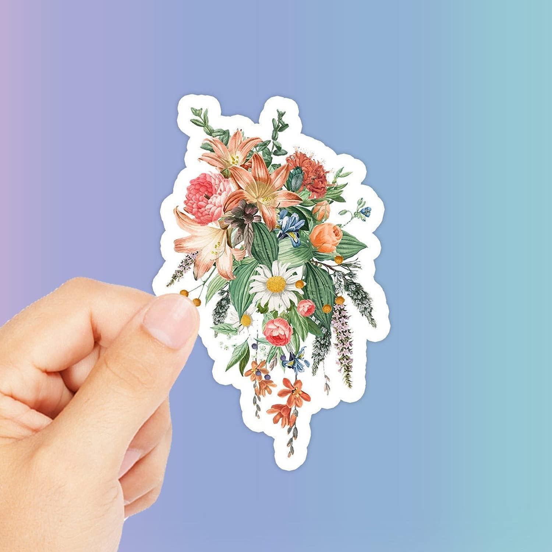 Flower Sticker Tulsa Mall - Girl Friend Bouquet Rapid rise