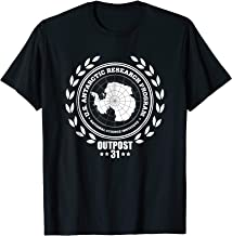 Outpost 31 US Antarctica Research Horror T-Shirt