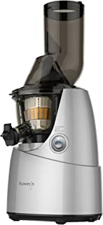 Kuvings Whole Slow Juicer B6000S - Higher Nutrients and Vitamins, BPA-Free Components, Easy to Clean, Ultra Efficient 240W, 60RPMs, Includes Blank Strainer-Silver