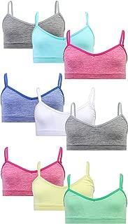 Sweet & Sassy Girls Seamless V-Neck Training Bra 9 Pack