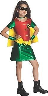 Teen Titans Child's Robin Costume Dress, Medium