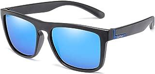 Polarized Square Driving Sunglasses Women Men TR90 Unbreakable Sport Glasses Long Keeper