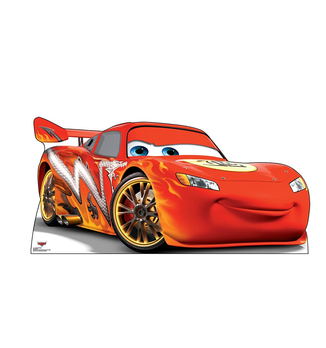 Advanced Graphics Lightning McQueen Life Size Cardboard Cutout Standup - Disney Pixar's Cars