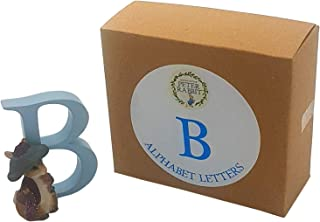 OFFICIAL LICENSED BOXED CERAMIC BEATRIX POTTER BENJAMIN BUNNY ALPHABET LETTER B