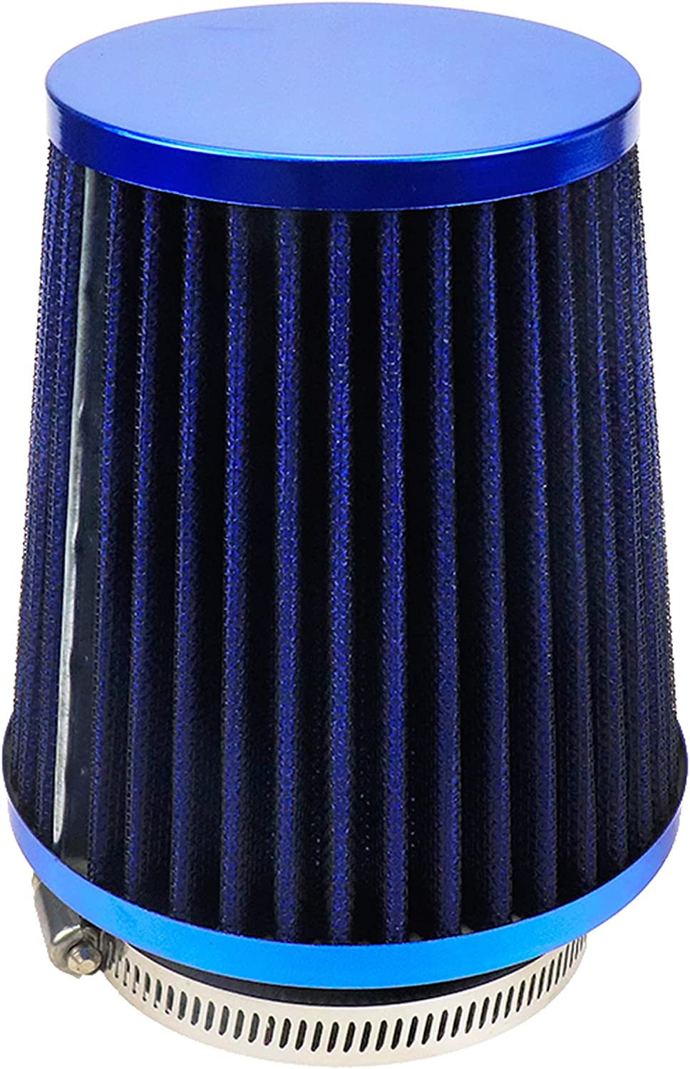 Modengzhe Universal Max 46% OFF Clamp-On Conical Mesh Filter Air Industry No. 1 Intake Rpla