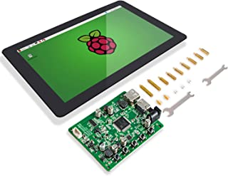 "SUNFOUNDER Raspberry Pi 10.1"" Display Touchscreen 10.1 inch IPS LCD HDMI 1280x800 for Raspberry Pi 4B 3 2 Model B And RPi 1 B+ LattePanda Beagle Bone"