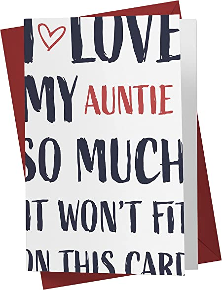 Funny Birthday Card for Aunt
