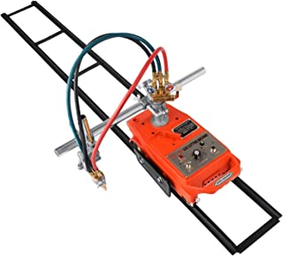 Mophorn Torch Track Burner Semi Automatic Flame Cutting Machine Cutter Portable Handle Gas Cutting Machine with 2 X 1.8m(5.9ft) Track