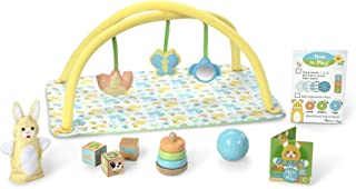 Melissa & Doug Mine to Love Toy Time Play Set for Dolls (16 Pieces, Activity Gym, Stacker, Blocks, More, Great Gift for Girls and Boys - Best for Babies and Toddlers, 4 Month Olds, 1 and 2 Year Olds)
