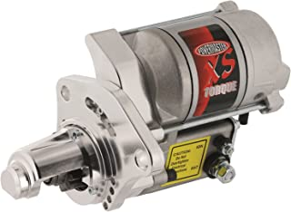 Powermaster Performance 9523 XS Torque Starter Mounting Block w/Nose Cone 200 ft./lb. Torque 18:1 Compression Ratio 4.4-1 Gear Reduction Natural Finish XS Torque Starter