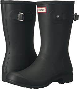 ff5150a3052 Black. 1024. Hunter. Original Tour Short Packable Rain Boots