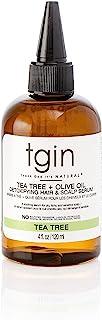 tgin Tea Tree روغن زیتون سم زدایی از خارش خشک مو و سر سر - 4 اونس