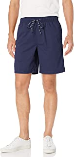basic editions elastic waist shorts