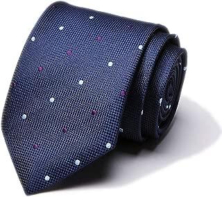 "Men's Skinny Silk Tie Classic Mixed Pattern Wedding 3"" Necktie - Various Colors"